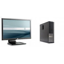 "Pack Monitor HP LA2006x 20"" LED + Dell OptiPlex 390 SFF"